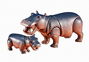 Playmobil Add-On Series - Hippo with Baby