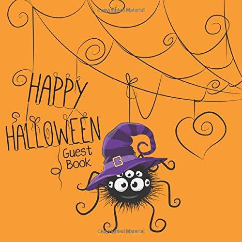 Happy Halloween Guest Book