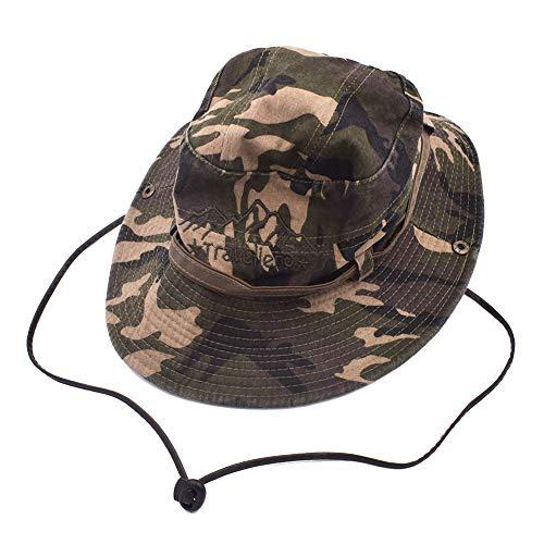 Sombrero Pescador Algodón, Sombrero De Pesca, Sombrero para El Sol Paño Lavado Al Aire Libre Alpinismo Sombrero Cuenca Comercio Exterior Aleros Anchos Hombres Y Mujeres Verano Ultravioleta Plegable