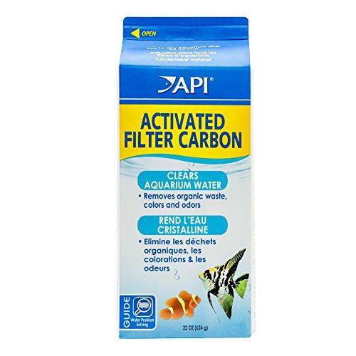 API ACTIVATED FILTER CARBON Aquarium Filtration Media 22-Ounce Box