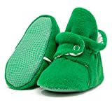 Product Image of the Ella Bonna Mini Fleece Booties with Non Skid Bottom   Flexible   for Baby Boys...