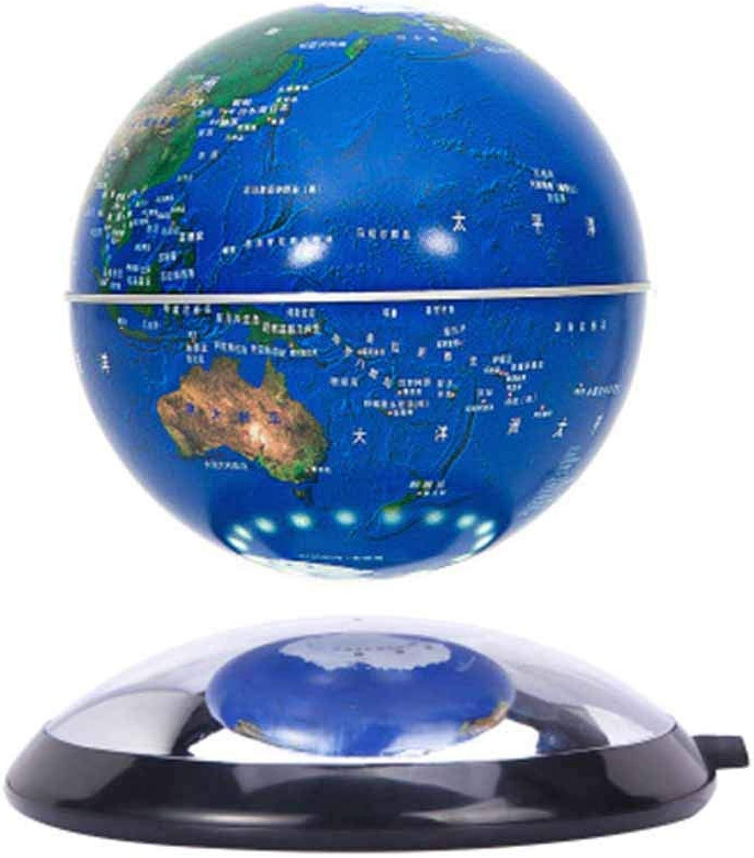 DONG Schwimmende Kugel der magnetischen Schwebe 6 '' Selbstdrehende Kugel Anti Schwerkraft Weltkarte Erde zum Kindererziehung Valentines Geschenke,Blau B07MMZRGR7 | Outlet Store
