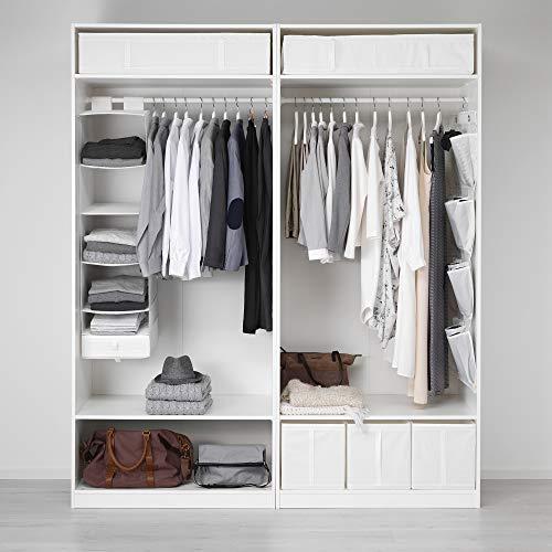 PAX szafa na ubrania 200 x 58 x 236,4 cm biała