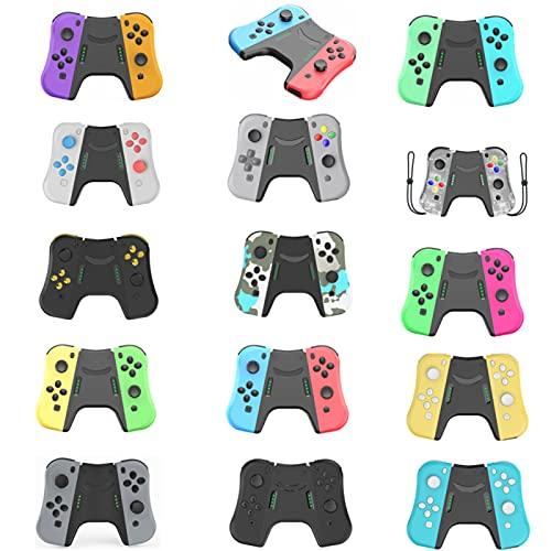 Conector de mão para Nintendo Switch Joy Con, conector de cabo de jogo para Joy Cons, controles alternativos para Nintendo Switch, substitua para interruptor Joycon