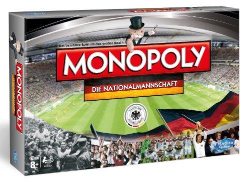 Hasbro Spiele B0733100 - Monopoly - Die Nationalmannschaft, Familienspiel
