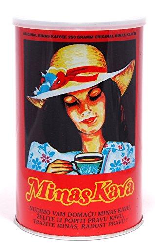 Minas Kava - Kaffee gemahlen nach Balkan Art (250g)
