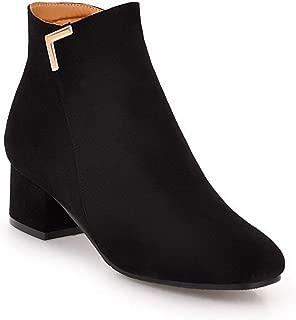 BalaMasa Womens ABS14058 Pu Boots