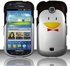 For Samsung Galaxy Stellar 4G i200 (Verizon) Rubberized Design Cover - Penguin Design