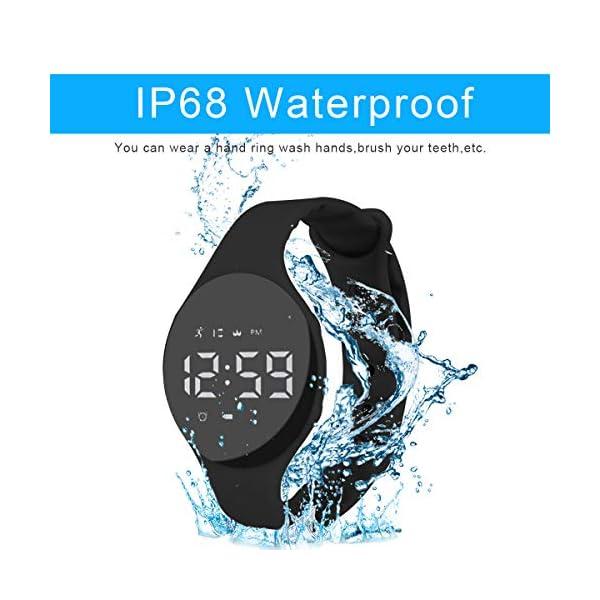 Hootracker Pulsera Actividad Impermeable IP68 Fitness Smartwatch Tracker