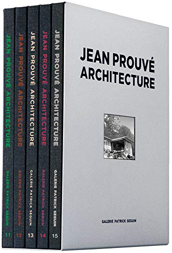 Jean Prouve Architecture: Five-Volume Box Set No. 3 (Jean Prouvé Architecture Set, Band 3)