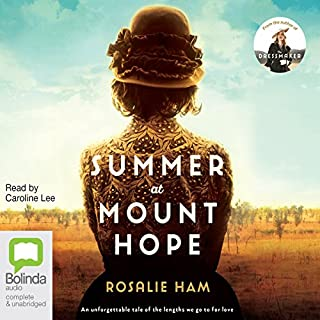 Summer at Mount Hope                   By:                                                                                                                                 Rosalie Ham                               Narrated by:                                                                                                                                 Caroline Lee                      Length: 12 hrs and 15 mins     30 ratings     Overall 3.9