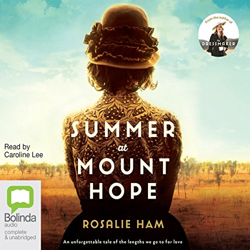 Summer at Mount Hope audiobook cover art