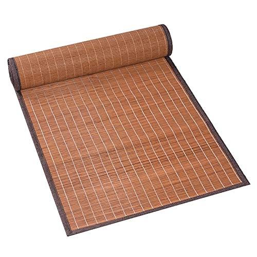 Corredor de Mesa Camino de Mesa de Bambú Vintage de Estilo Japonés Caqui, Mantel Rectangular para Salón de Té Hogar, 300/250/210/180/150/120/100cm de Largo (Size : 40×90cm/15.7 ×35in)