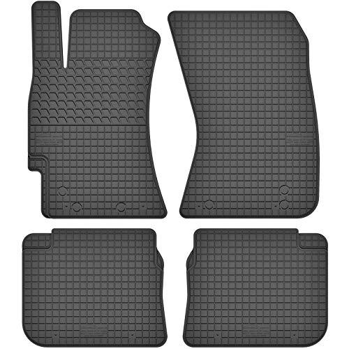 AGCPdirect Gummi Matten Fußmatten Passgenau 4-teilig Set für Subaru Forester SH 2008-2013 und Subaru Impreza 2007-2011 und Subaru Legacy 2003-2009 und Subaru Outback 2004-2009