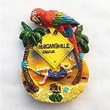 TDCTshop Mexico Tourism Holiday City Cancún, imanes de Nevera 3D de Resina, Hechos a Mano, Recuerdos turísticos, artículos para el hogar de Cocina, decoración de artesanías.