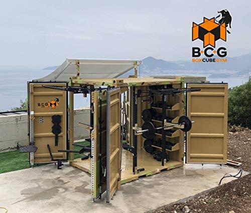 Grupo Contact Box Cube Gym, contenedor con Gimnasio Completo, fabricación española