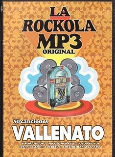 La Rockola Mp3 Original /50 Canciones Vallento [Import] Colombia