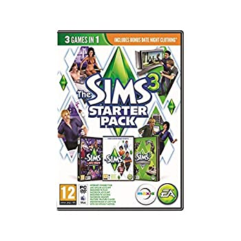The Sims 3 Starter Pack Late Night High-End Loft Stuff PC DVD Game