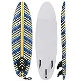 vidaXL Surfbrett 170cm Blatt Surfboard Stand Up Board Shortboard Wellenreiter