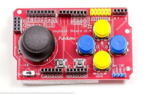 MissBirdler Joystick Keypad Shield Gamepad PS2 für Arduino UNO Mega Leonardo Duemilanove