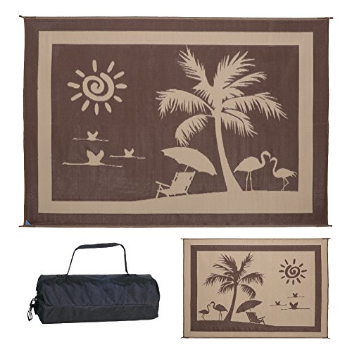 Ming's Mark Inc. BP8117 Mat Beach Paradise 8 X 11