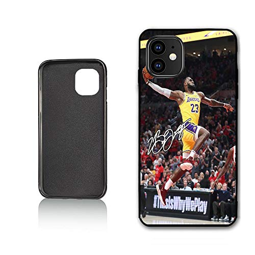 Sycase Lebron Custom Phone Case for iPhone 11 Pro Max Case,TPU Soft Case Never Fade