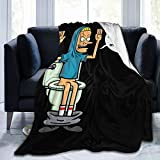 Hbgtw Zss Beavis and Butt-Head Blanket Throw Blanket Ultra-Soft Flannel Blanket Lightweight Summer Fuzzy Thin Blanket for Couch Sofa Bed
