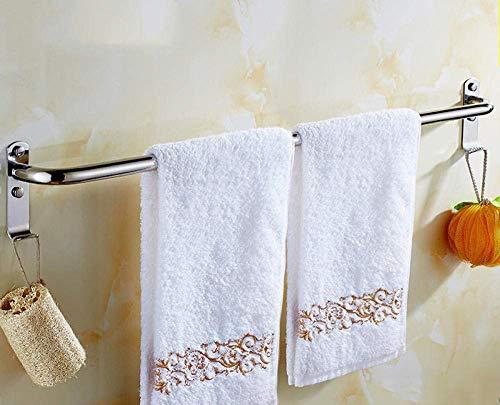 Toallero de pared de acero inoxidable 304 para baño, cocina, sala de estar, 120 cm