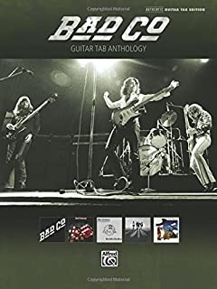 Bad Company Guitar Tab Anthology Authentic Guitar Tab Edition by Bad Company (2011) Paperback