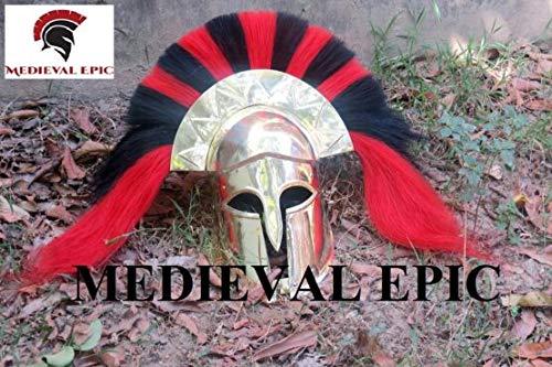 Disfraz Medieval del Rey Escarpiano, Casco de rehabilitación de esquí, Disfraz de fantasía, Armadura de Halloween
