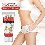 ZGL Crema corporal reafirmante Celulitis, Quemadores de grasa Crema para bajar de peso, Perfectamente en forma de piernas, Abdomen, Brazos y Glúteos