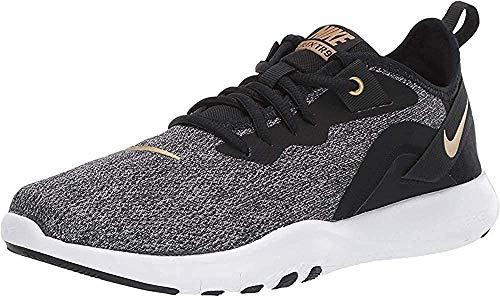 Nike Women's Flex Trainer 9 Sneaker, Black/Metallic...