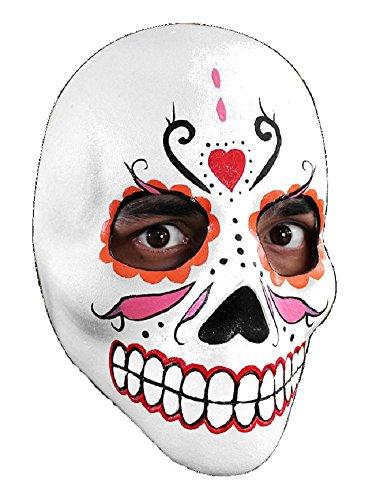 Halloween carnaval de fête masque Jour des Morts latex pour adultes
