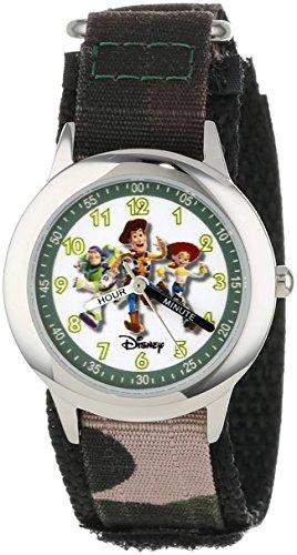 Disney ディズニー W000065 Toy Story 3 トイ・ストーリー3 ウッディ バズ・ライトイヤー ジェシー ステンレススチール ウオッチ ウォッチ 腕時計 子