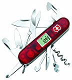 Victorinox Traveller Lite Couteau d'Officier Rouge Transparent