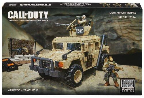 Mattel Mega Bloks DCL23 Call Of Duty - Light Armor Firebase