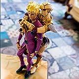 Py ACG周辺機器人形飾りからジョジョの奇妙な冒険ジョルノジョヴァンナ&ゴールド経験アクションフィギュアモデル人気漫画ギフト玩具装飾
