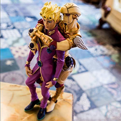 ZRY Jojo Bizarre Adventure Giorno Giovanna y Oro Experiencia Figura de acción de Dibujos Animados Toy Modelo Popular Regalo Decoraciones de ACG Ordenadores muñeca Adornos