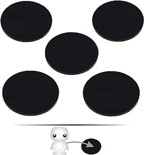 LITKO Pop Culture Figure Stands, 2-inch Circle (5) (Black)