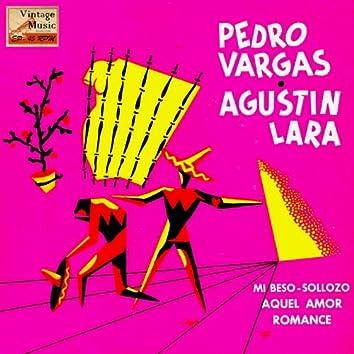 """Vintage México Nº 130 - EPs Collectors, """"Pedro Vargas Y Agustín Lara"""""""