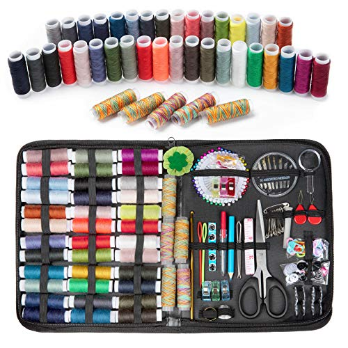 Wodasi Kit de Costura con 206 piezas Accesorios de Costura