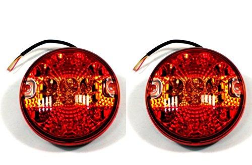 2x LED 12V/24V RÜCKLICHT RÜCKLEUCHTEN PKW-ANHÄNGER WOHNWAGEN LEUCHTE BLINKLICHT140mm