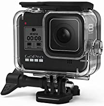 FitStill Waterproof Case for GoPro Hero 8 Black, Protective Underwater 60M Dive Housing Shell with Bracket Accessories for Go Pro Hero8 Action Camera
