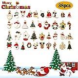 Zoom IMG-1 38pz carino ciondoli natalizi charms