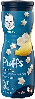 Gerber GRADUATES, Baby Food, Puffs, Banana, 42g