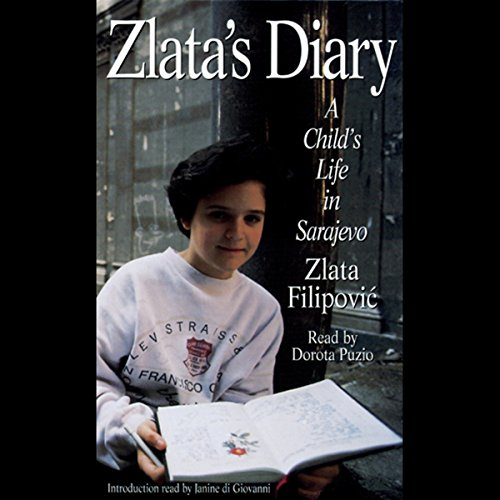 Zlata's Diary audiobook cover art