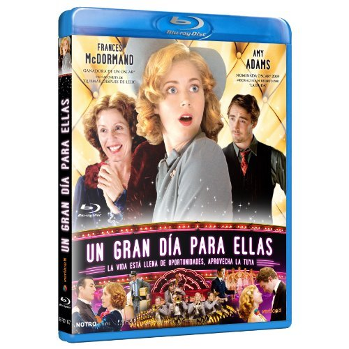 Miss Pettigrew Lives for a Day [ Blu-Ray, Reg.A/B/C Import - Spain ]