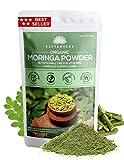 SAPTAMVEDA 100% Certified Organic Moringa/Sahjan/Drumstick Leaf Powder | Perfect for Smoothies, Drinks, Soup