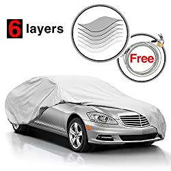 Best Weatherproof Car Cover - KAKIT Universal Car Cover