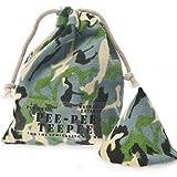 Pee-Pee Teepee Camo Green - Laundry Bag